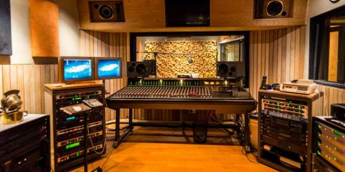 Modern Sound Recording Studio